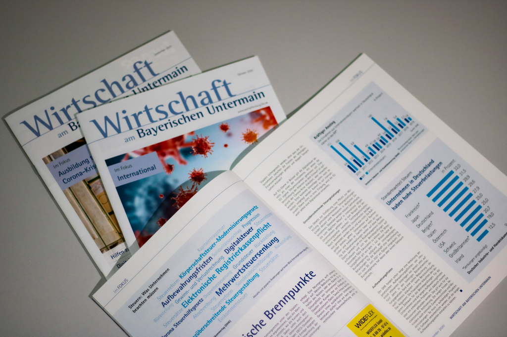 Wirtschaft am bayerischen Untermain: Mitgliedermagazin der IHK Aschaffenburg