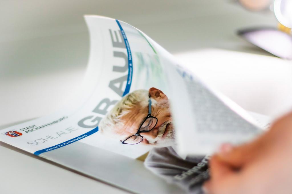 Schlaue Graue: Das Seniorenmagazin der Stadt Aschaffenburg