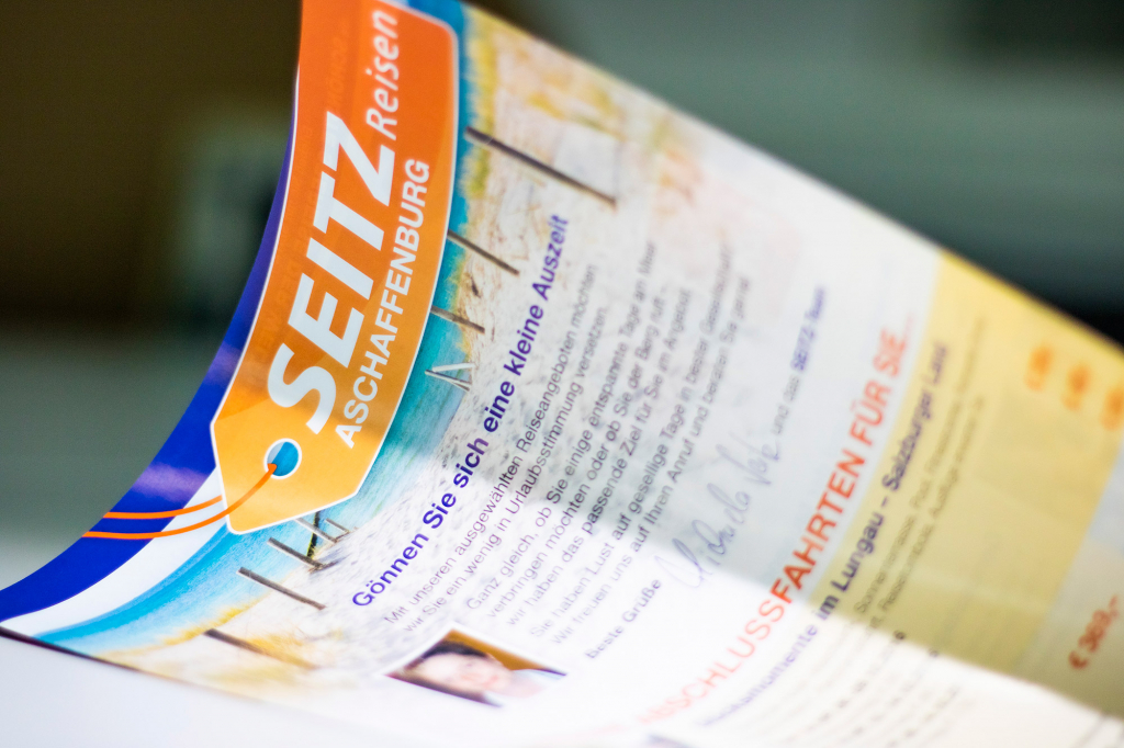 Katalog von Seitz-Reisen in Aschaffenburg